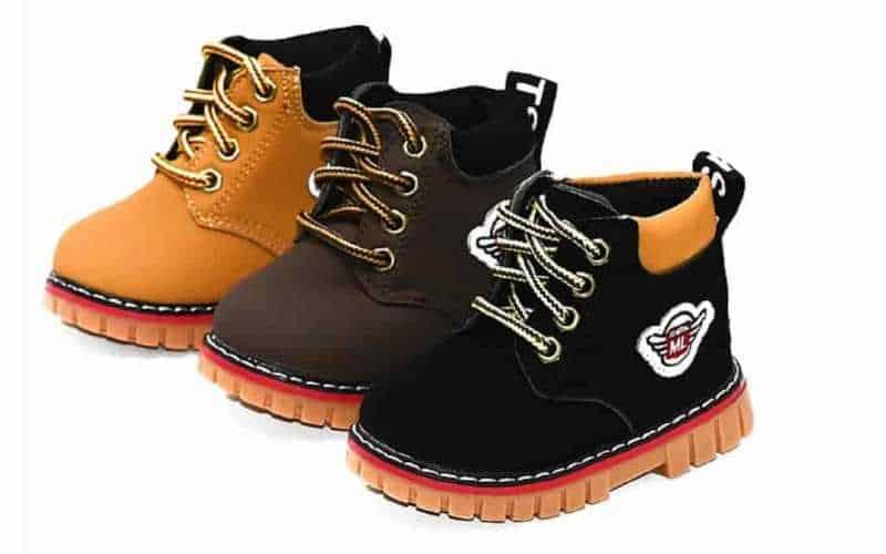 sapato ideal para uma criança