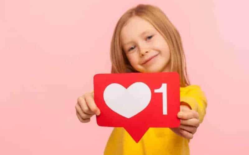 seguidores em perfil kids no Instagram