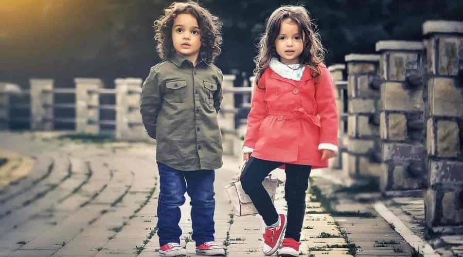Crianças com estilo