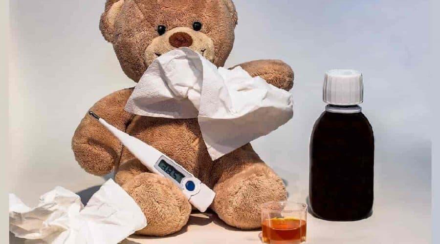 Remédio de febre infantil